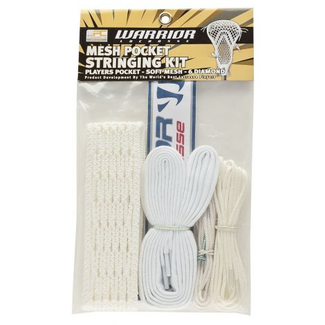 Warrior Lacrosse 6 Diamond Mesh Stringing Kit
