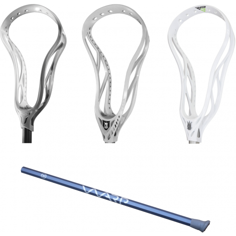 Warrior Lacrosse Limited Edition Dolomite Diamond Warp Shaft + FREE Unstrung Head