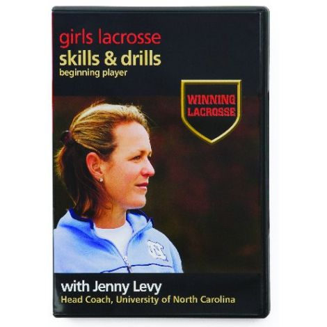 Winning Lacrosse Skills & Drills: Beginning Player DVD with Jenny Levy